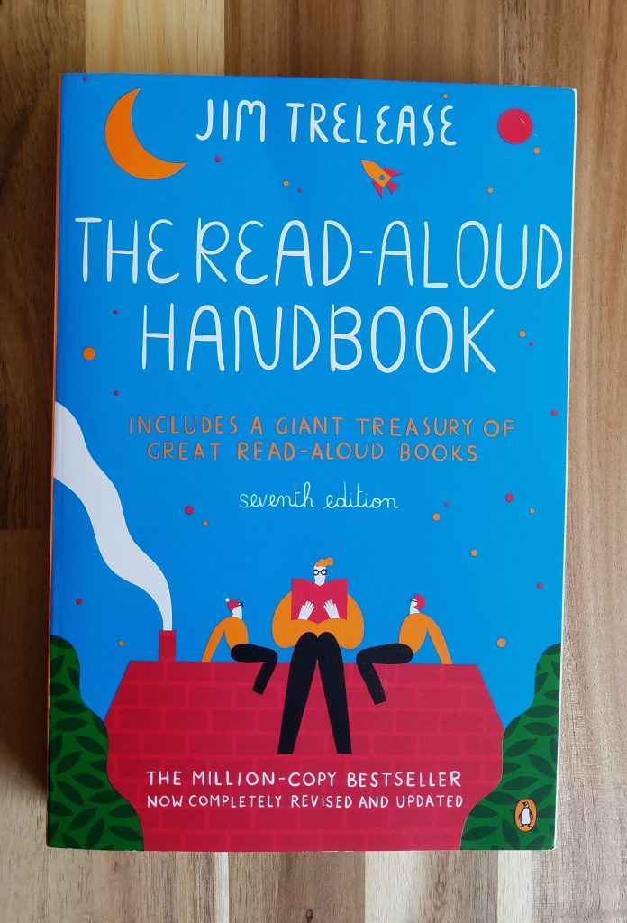 Homeschool families will benefit from the book called The Read-Aloud Handbook.