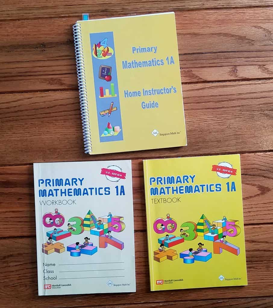 Singapore Math is our favorite Math curriculum for our homeschool.