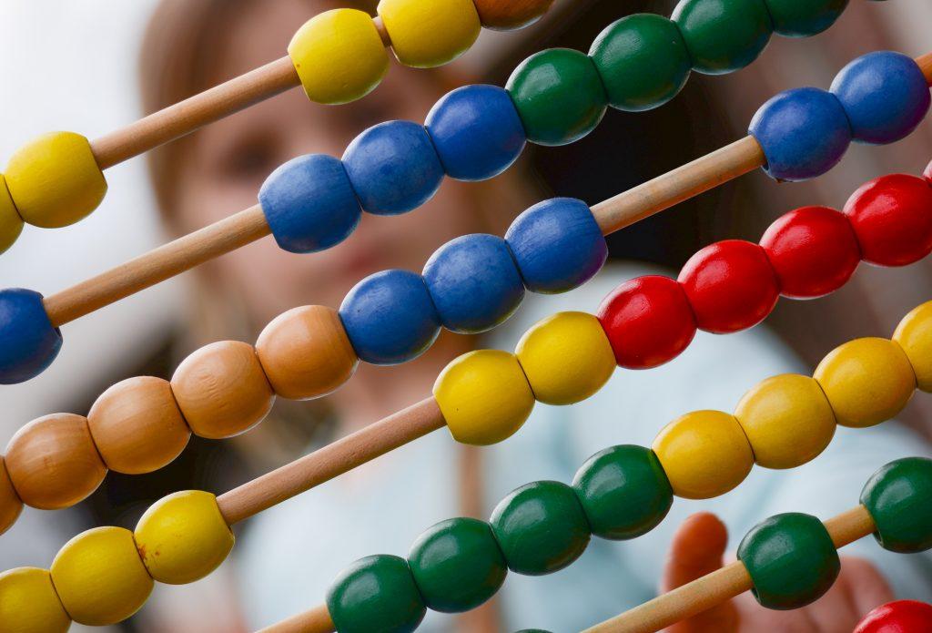 Muslim homechoolers should choose hands-on math for younger children.