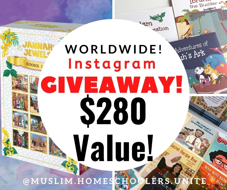 We're giving away tons of Islamic children's literature from our favorite shops!
