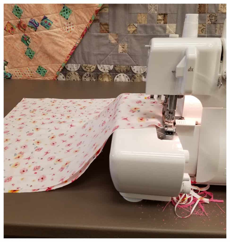 Homeschool families can teach their children to sew, for life skills.