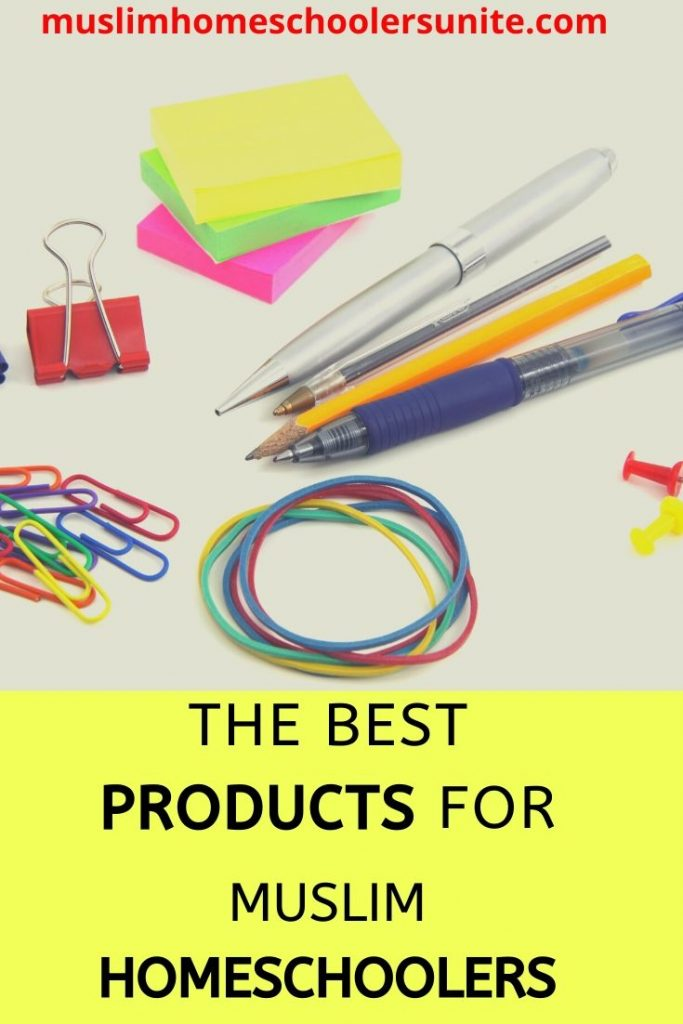 The best products for minimalist homeschoolers.
