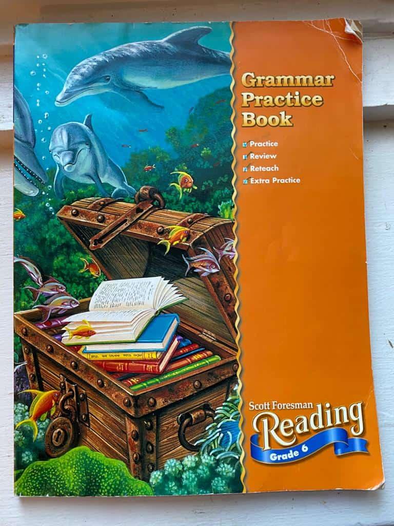 Muslim homeschool parents can use grammar textbooks to teach grammar to their middle school child.