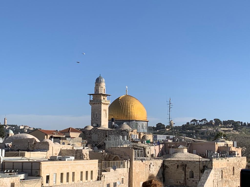 Muslim homeschool families should visit the sacred masjids, such as Masjid Al-Aqsa.