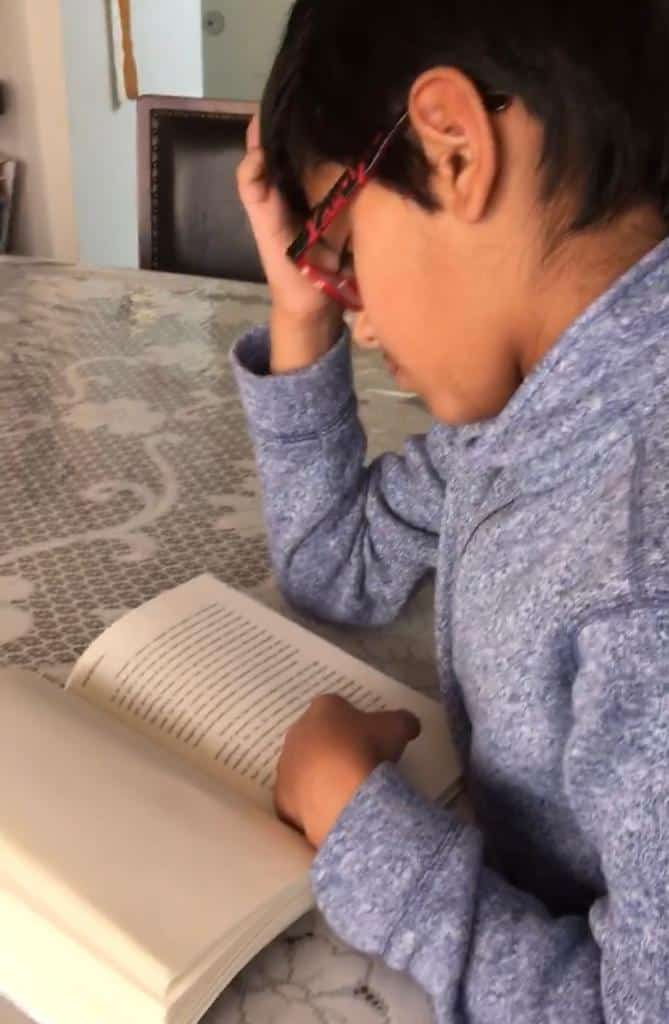 Homeschooled middle school children prefer to read silently.