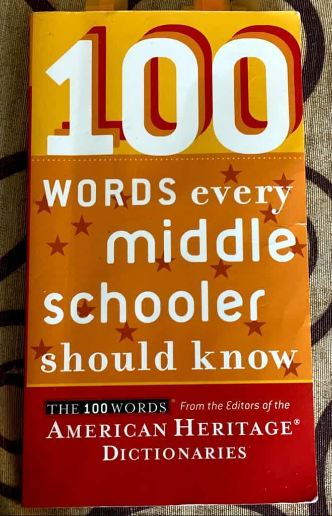 This book is great for teaching vocabulary to Muslim homeschooled middle school children.