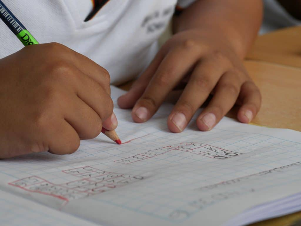 Muslim homeschooling parents can teach their middle school child about decimals, fractions, and percents.