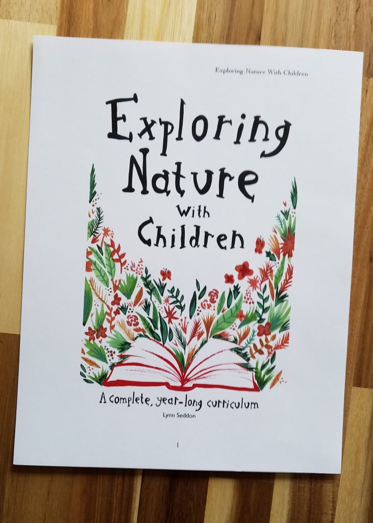 Exploring Nature With Children is a beautiful nature curriculum for homeschool families.
