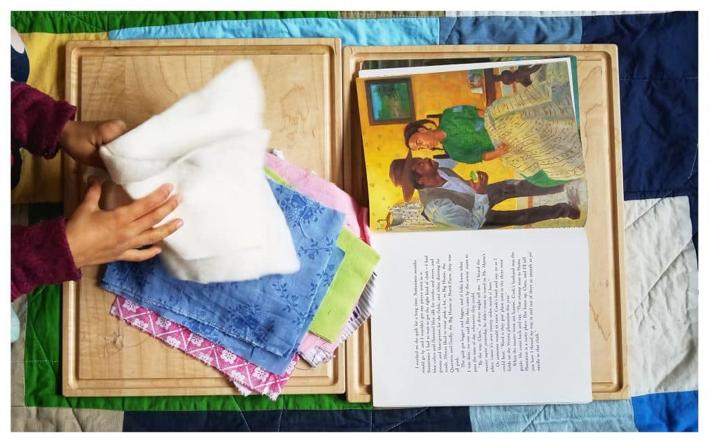 Sweet Clara and the Freedom Quilt is a great book for Black History Month for homeschooelrs to read.
