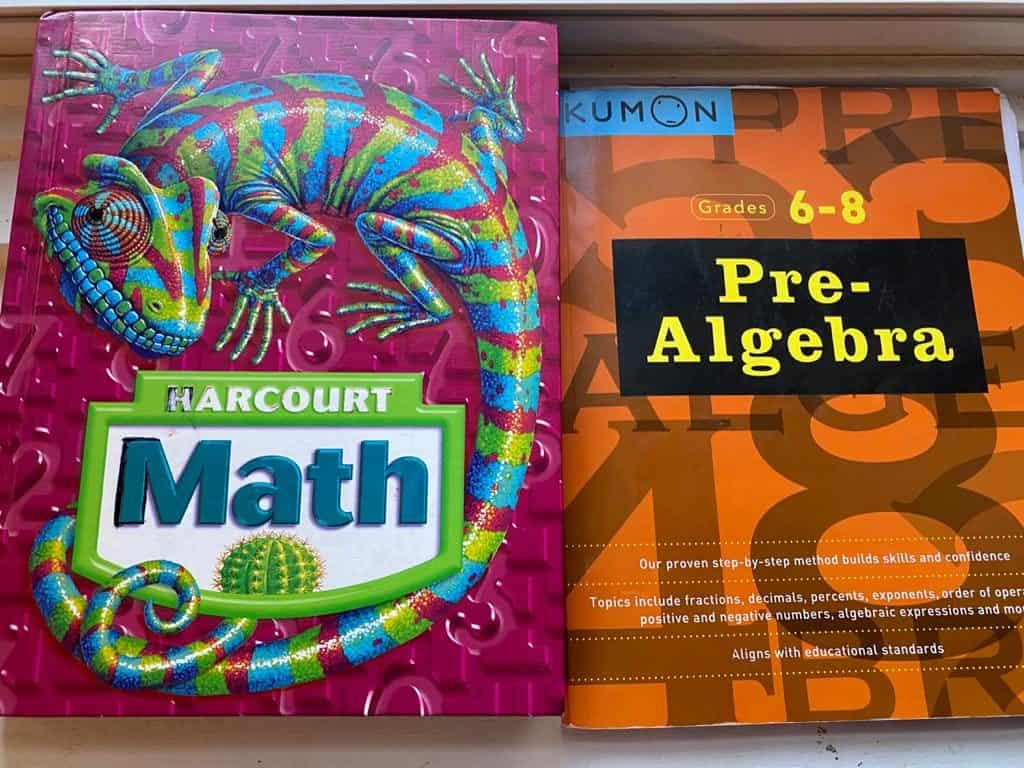 Iram Shaukat's homeschool math curriculum choices for her Muslim middle school child.