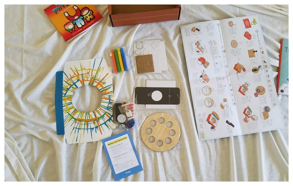 Subscription boxes are great for homeschooling families!