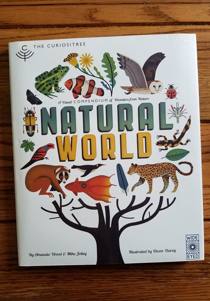 Natural World is a stunning book. It's great for homeschoolers.