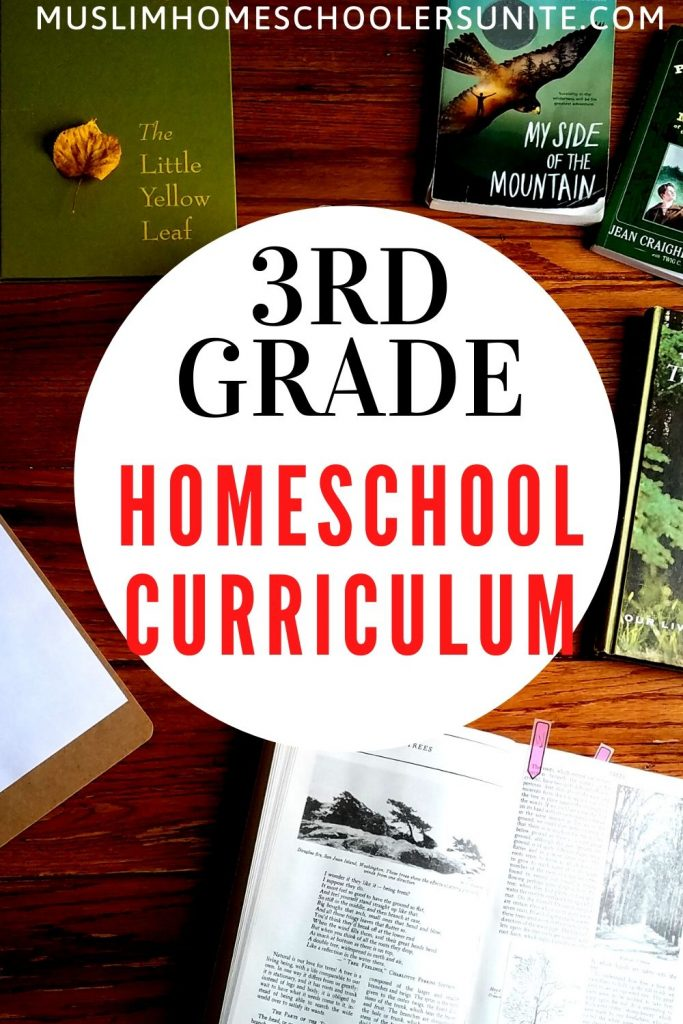Our third grade homeschool curriculum and resources