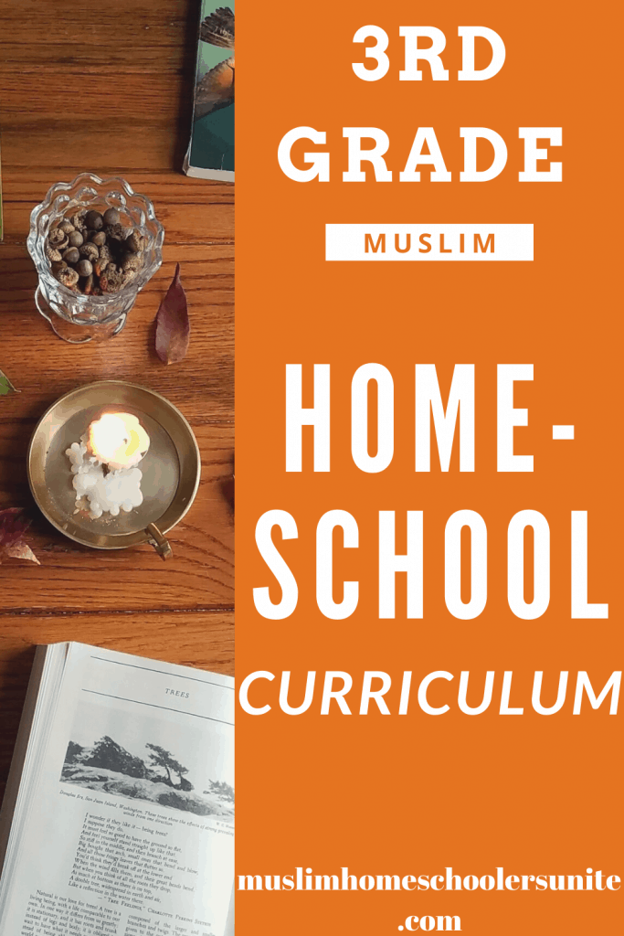 Third grade Muslim homeschool curriculum options.