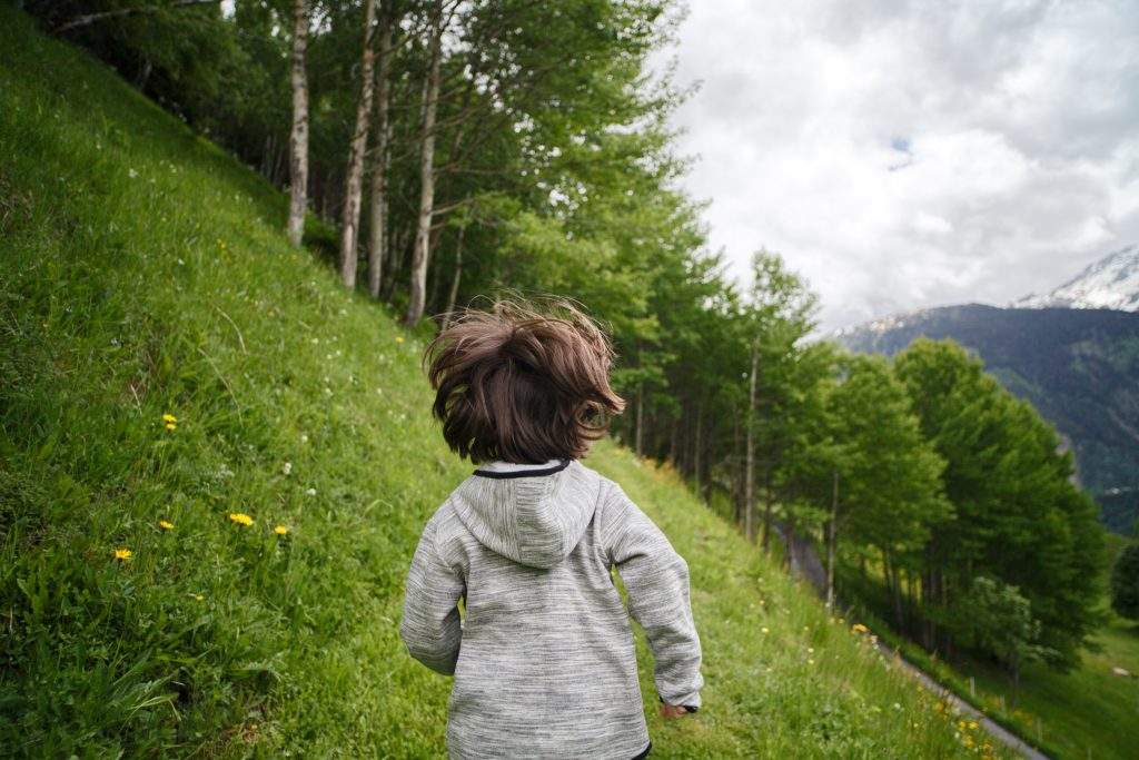 Homeschooled children will benefit from nature walks.
