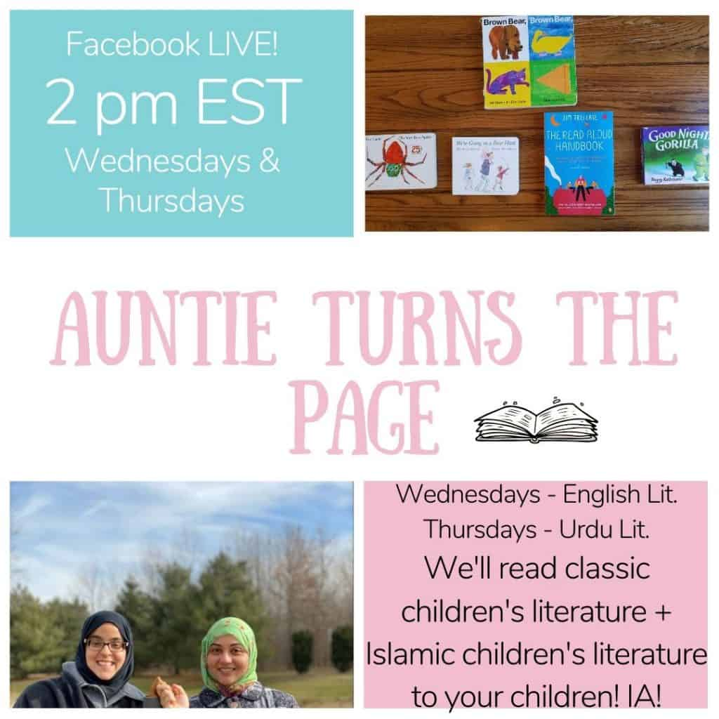 English and Urdu read alouds will be offered to your children who are home due to coronavirus outbreak!