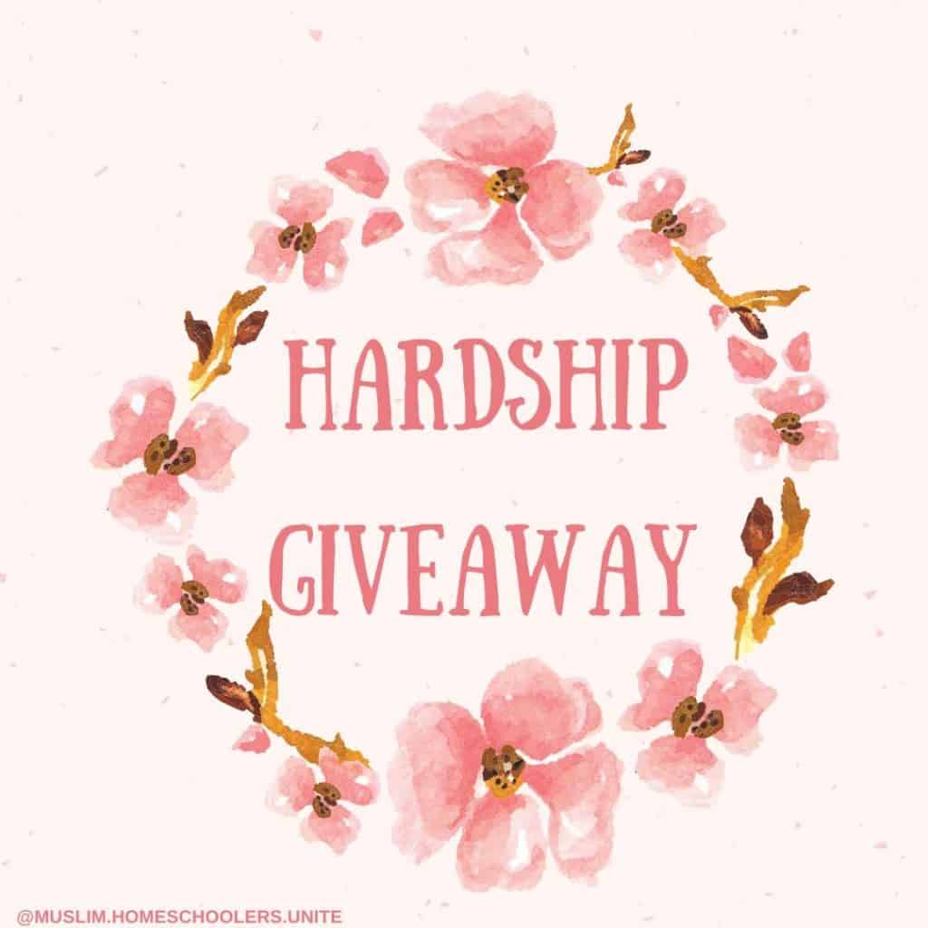 Hardship giveaway to those suffering during coronavirus pandemic.