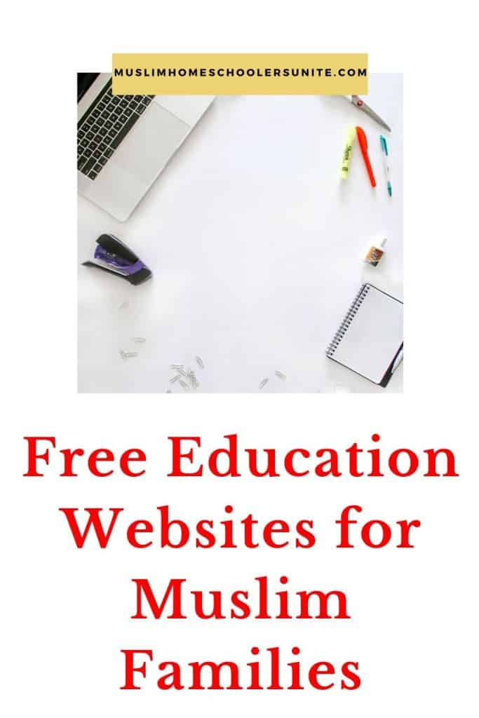 A huge list of free education websites for Muslim families.