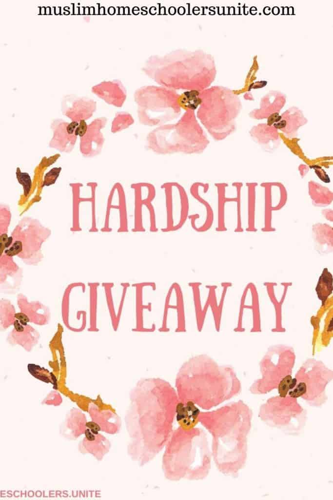 This giveaway is for those suffering hardship due to coronavirus pandemic and recession.