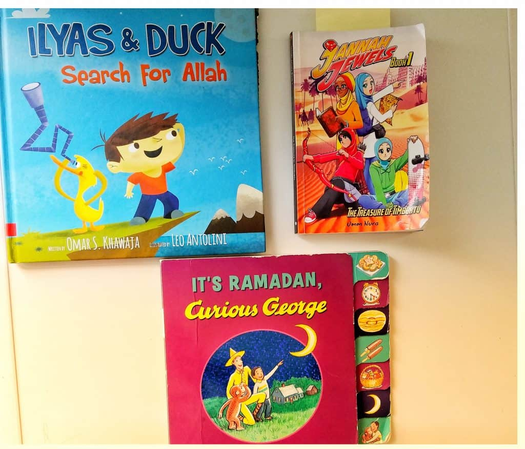 Muslim kids read aloud.