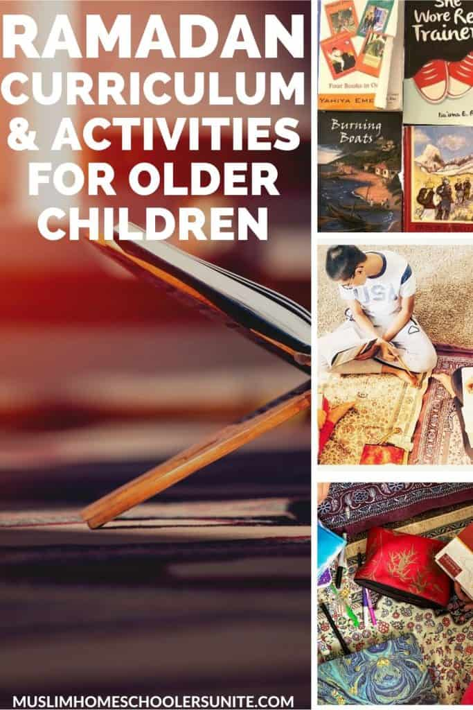 Find all of the best Ramadan curriculum and activities to do with your older child!  Plus get tips on fasting Ramadan during a pandemic.