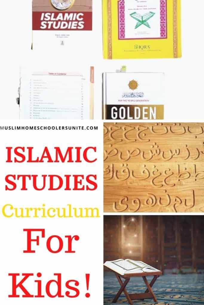 Islamic studies curriculum for kids is important!