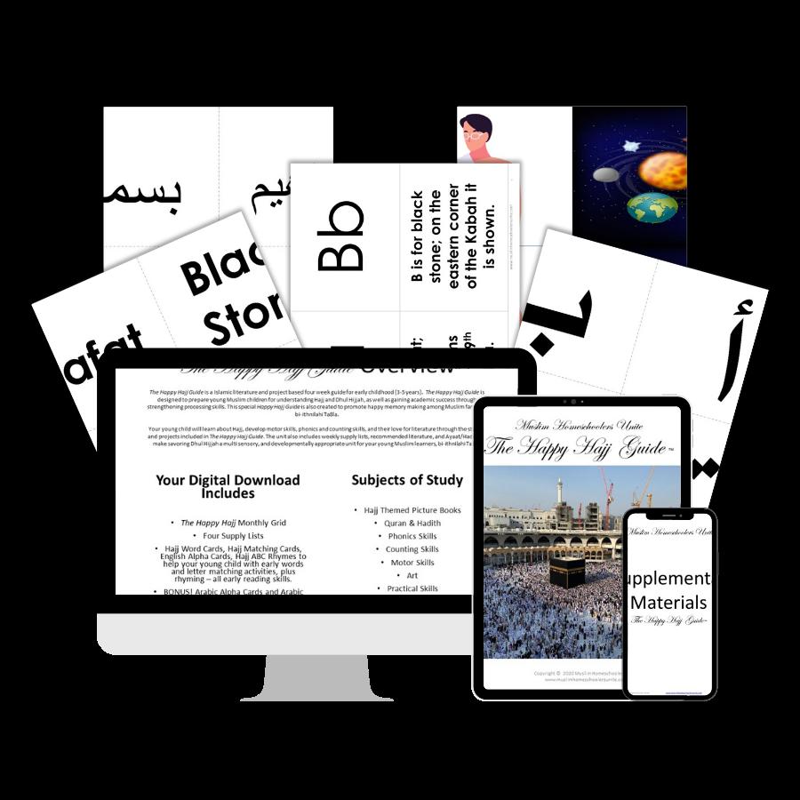 Hajj activities for Muslim kids.