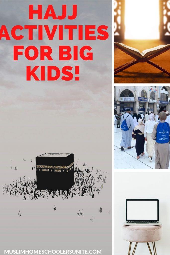 The best Hajj activities for big kids.