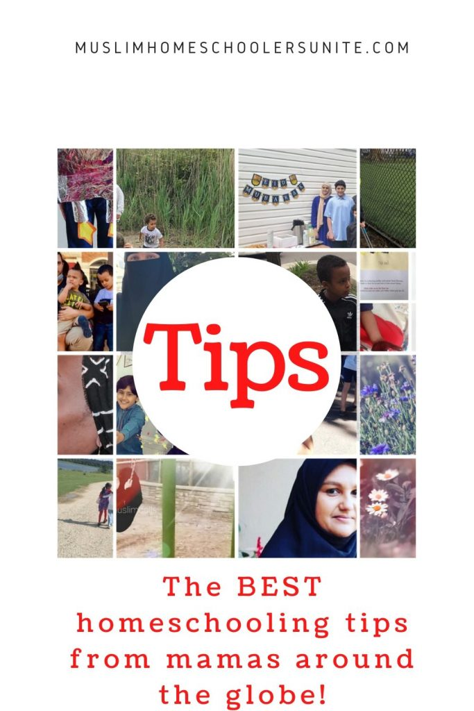 The best Muslim homeschooling tips written by seasoned and veteran homeschooling mothers from around the world.