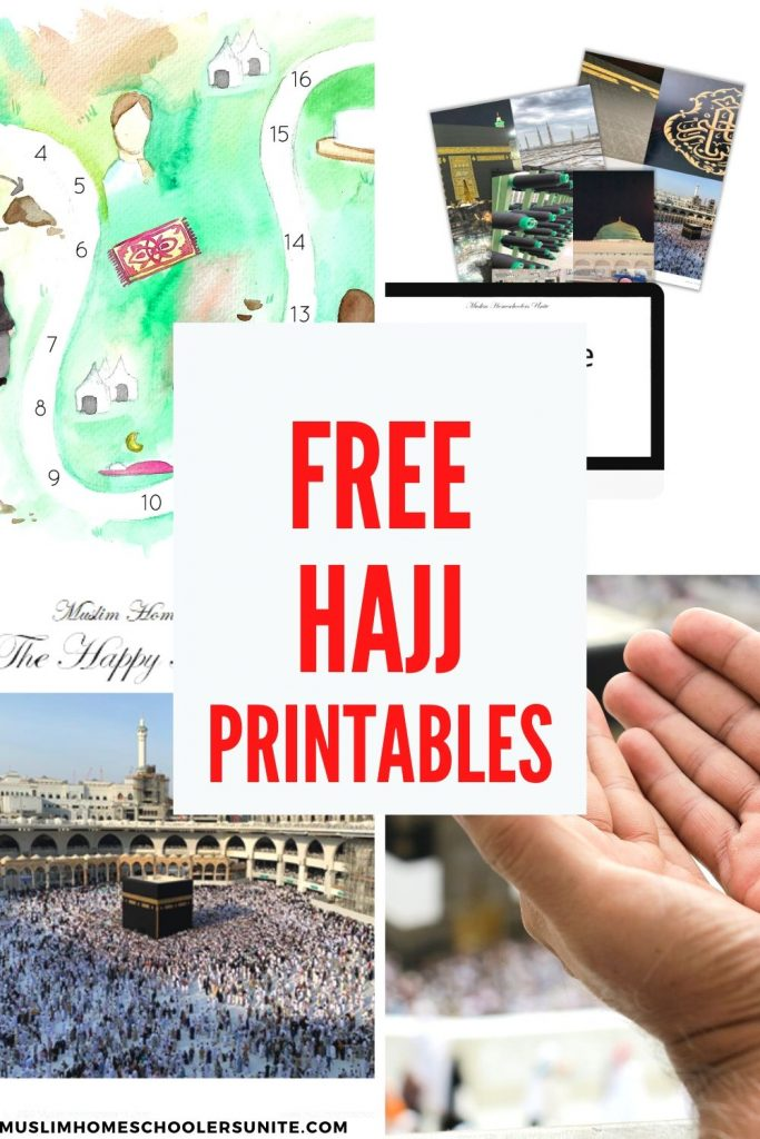 Free Hajj printables for Muslim families who would like to conduct Hajj activities with their kids.