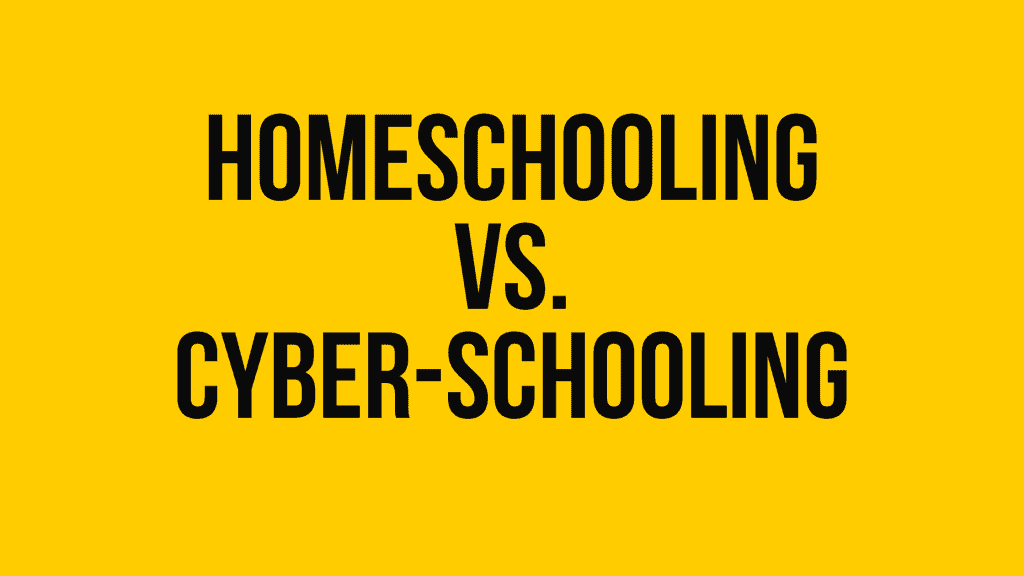 Muslim homeschooling versus cyber schooling. Understanding the difference.