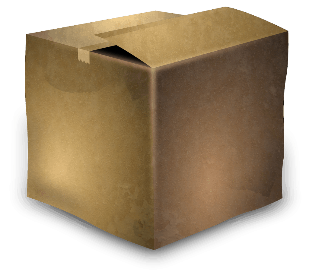 cardboard box, box, cardboard