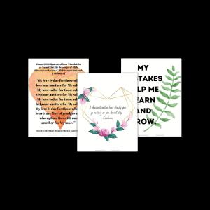Free samples of Muslim Morning Time Menus to help Muslim homeschooling mothers in their homeschool.
