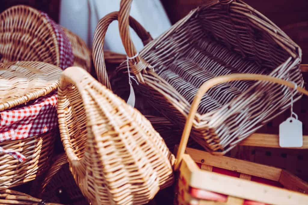 Morning baskets are a great way to keep Morning Time resources organized for Muslim homeschooling families.
