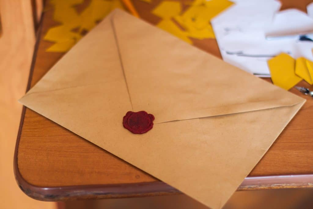 Muslim homeschooling parents can write a letter to their child on their first day of school.