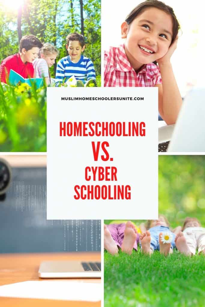Muslim families should understand the difference between traditional homeschooling and cyber schooling.