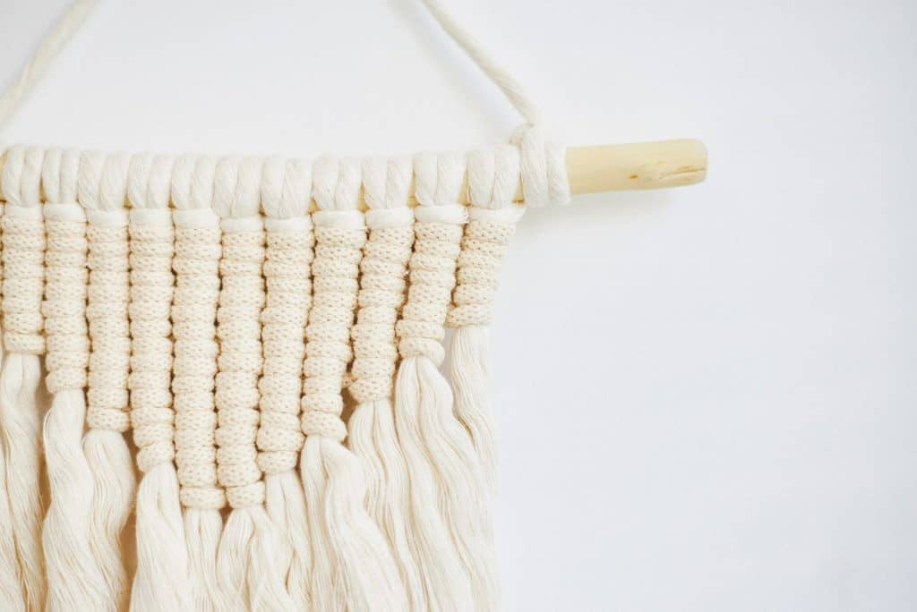 Macrame is a great homeschooling craft for your Muslim home.