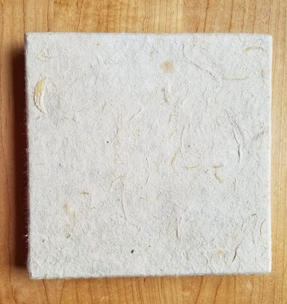 Papermaking is a great homeschooling handicraft.