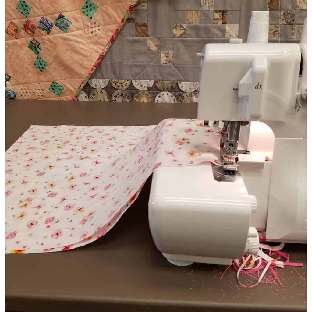 Teaching Muslim homeschooled children how to use a sewing machine is a great skill!