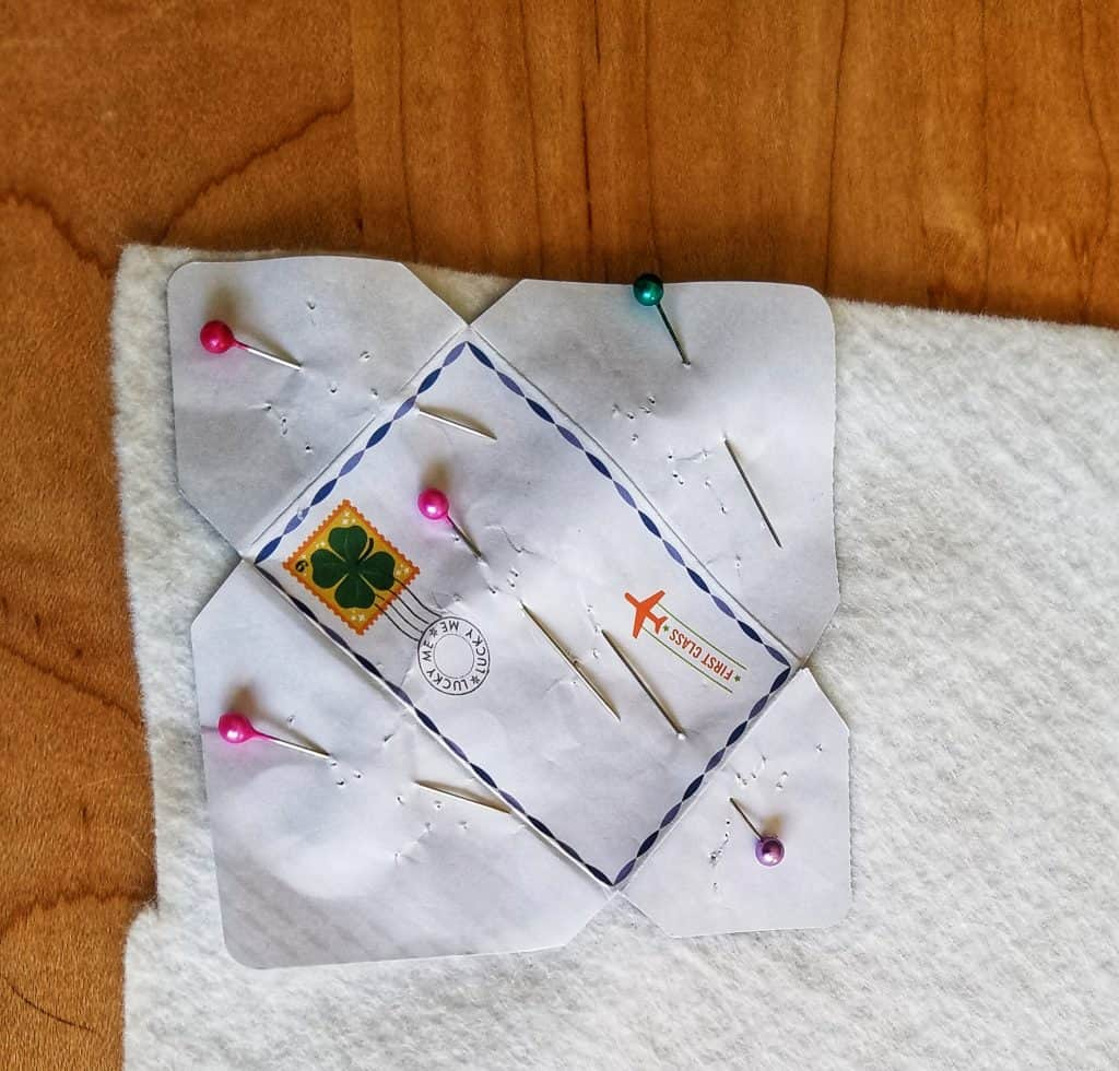 DIY mini felt envelopes are perfect for a Ramadan Advent Calendar.