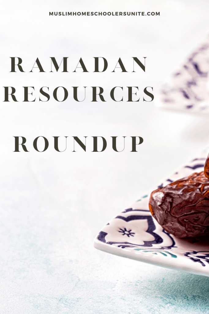 This Ramadan Roundup contains all resources for Muslim kids!